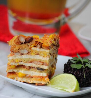 Clean Cuisine Recipe for Easy Enchiladas in a Crock Pot
