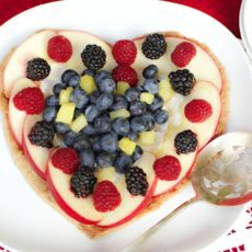 clean eating wheat free fruit pizza recipe