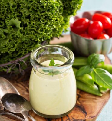 Clean Homemade Ranch Dressing Recipe
