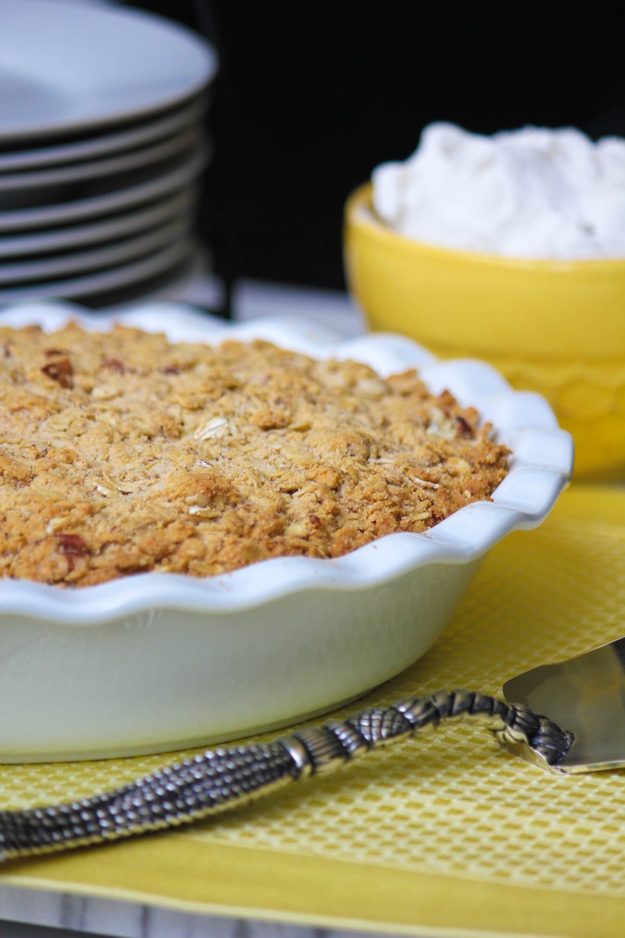 Clean Cuisine Peach Cobbler Recipe