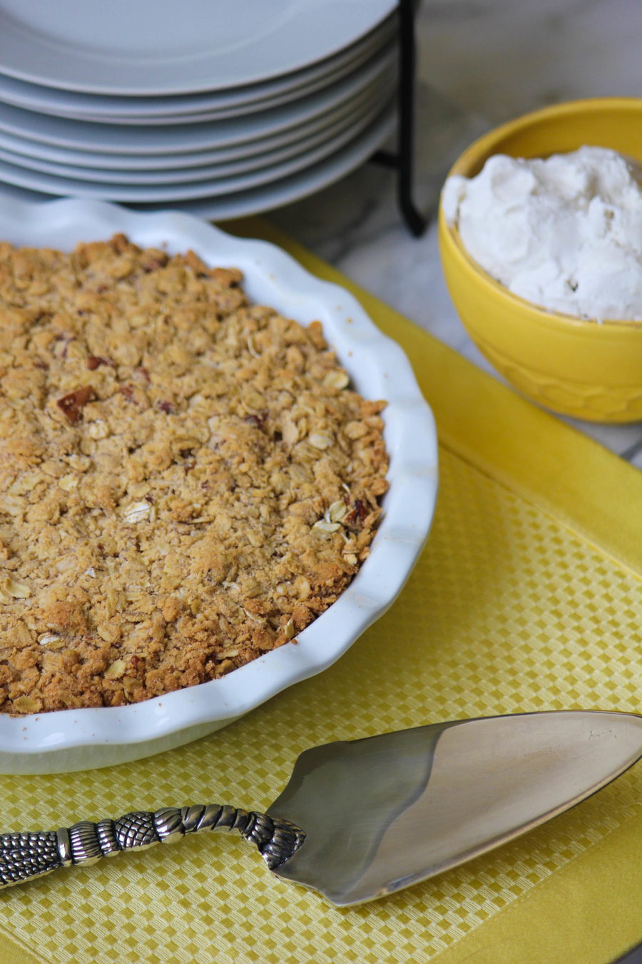 Clean Recipe for Peach Cobbler
