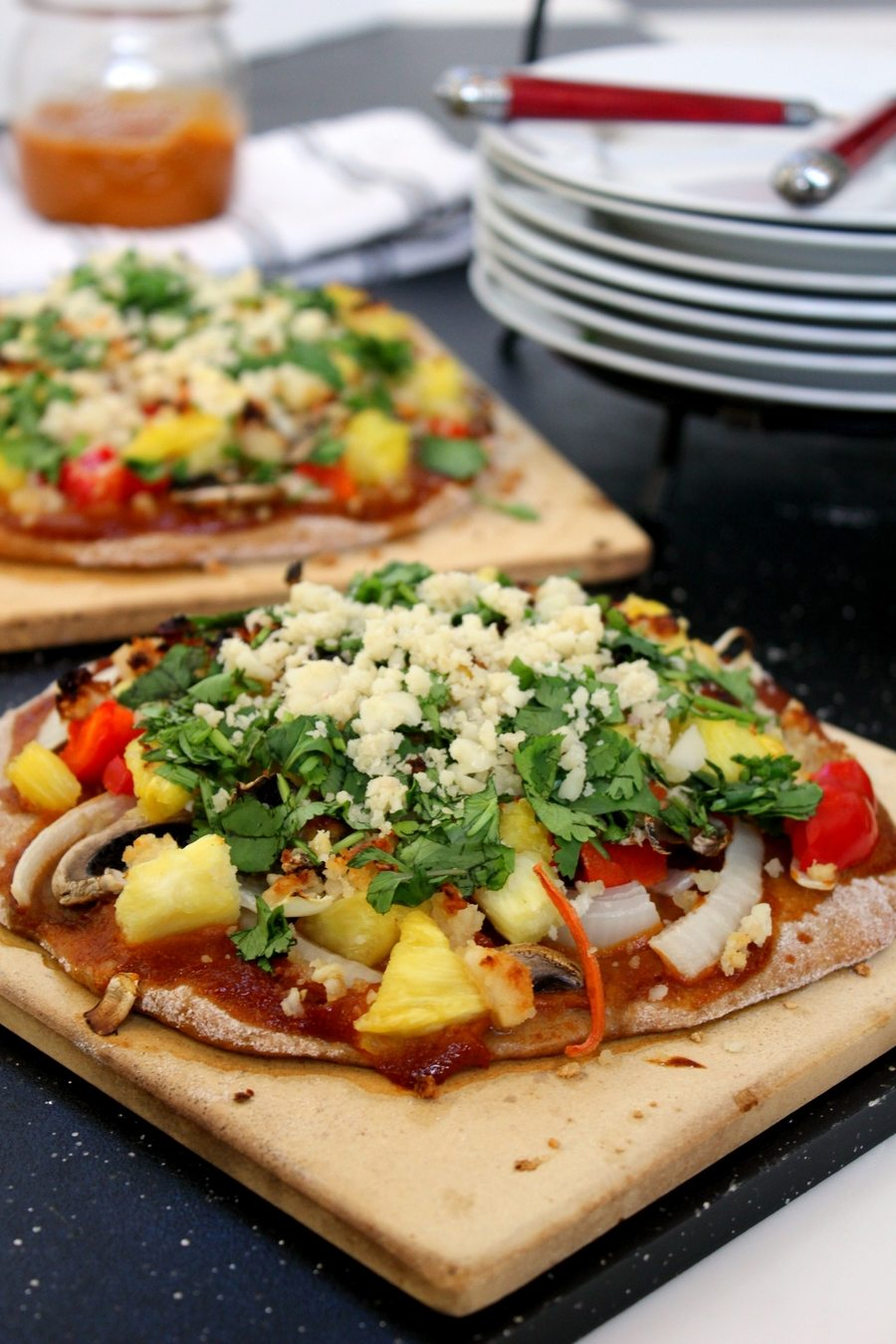 Clean Cuisine BBQ Pizza Recipe