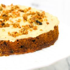 clean cuisine recipe for gluten free carrot cake