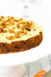 clean eating recipe for gluten free carrot cake