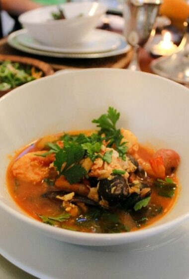 clean eating bouillabaisse recipe