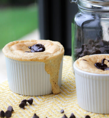 Chocolate and Peanut Butter Dessert Souffle Recipe