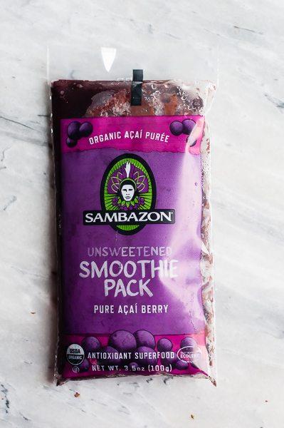 Sambazon Acai Packet