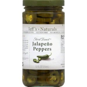 Jeff's Naturals Tamed Jalapenos