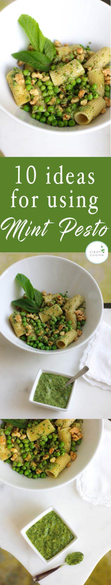 10 ideas for using Mint Pesto