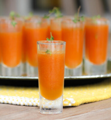 Blood Orange + Goji Berry Cocktail Makes a Healthier Happy Hour