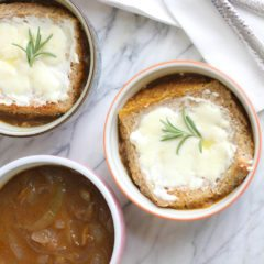 A Cleaner Remake of Julia Child's Classic French Onion Soup