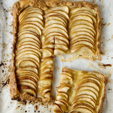 How to Make a French Apple Tart —Clean Cuisine