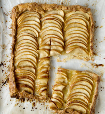 how to make a French Apple Tart