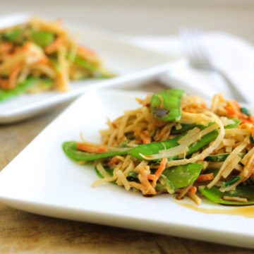 Vegetable Lo Mein Recipe—Clean Cuisine