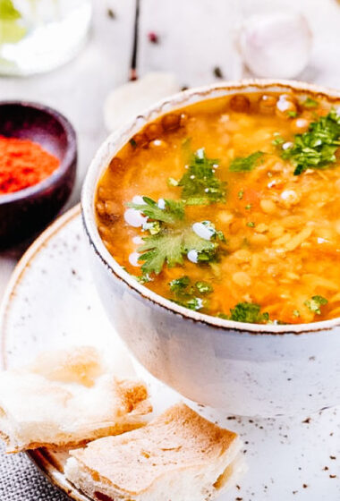 golden lentil dal