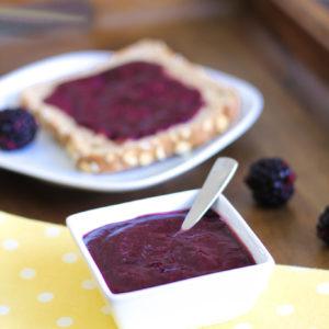 Quickest, Healthiest and Easiest Blackberry Jam Recipe Ever