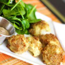 Gluten Free Cauliflower Tots
