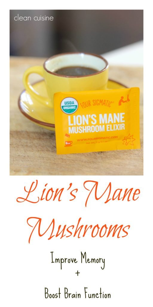 Improve Memory with Lions Mane
