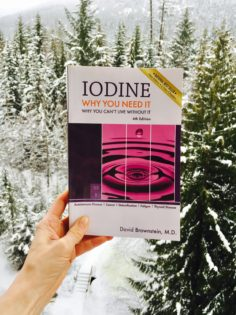 Iodine book by Dr. Brownstein