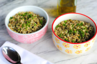 how to make farro salad