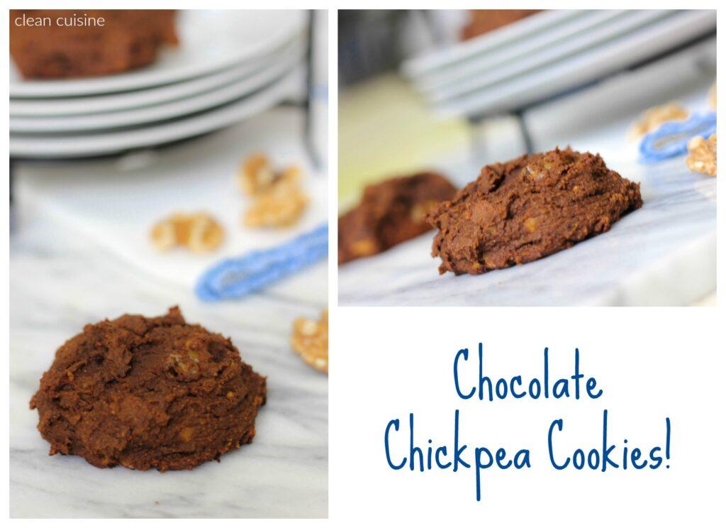 Chocolate Chickpea Cookies 3