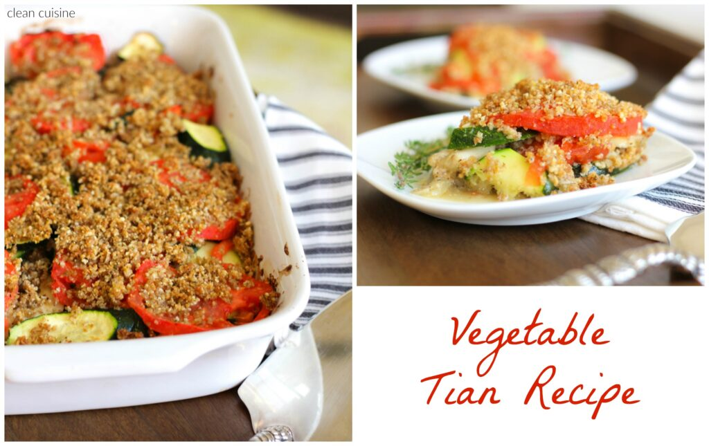 Vegetable Tian Recipe