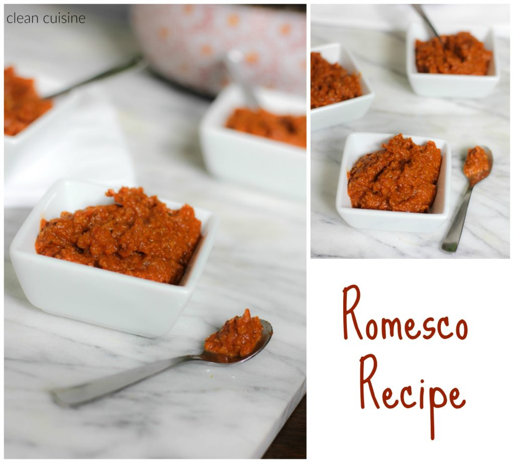 Romesco Sauce Recipe 2