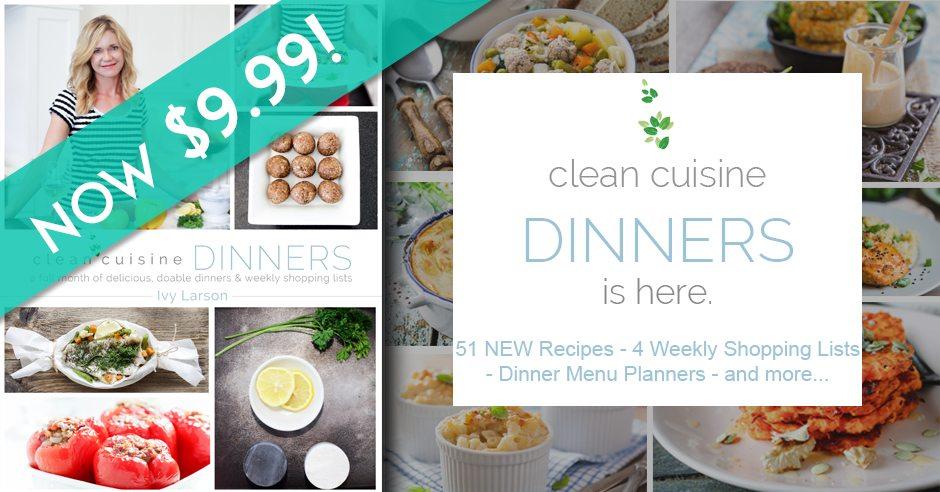 clean cuisine dinners