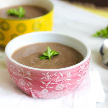 15 Minute Caribbean Style Easy Black Bean Soup Recipe