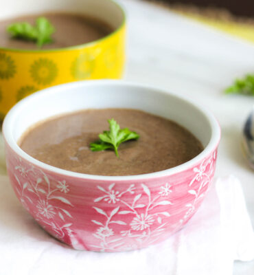 Caribbean Black Bean Soup Recipe