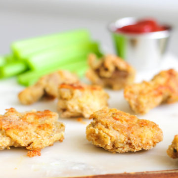 Clean and Gluten Free Recipe for Chicken Nuggets