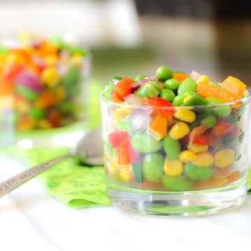Recipe for Clean Summer Succotash with Corn and Edamame