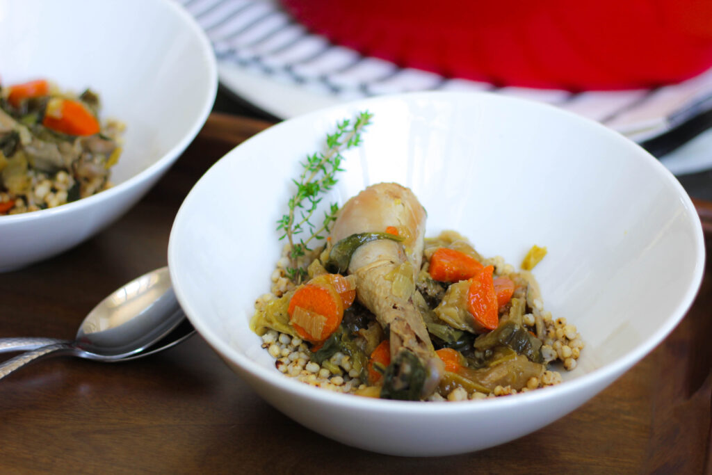 Chicken in a Pot with Sorghum