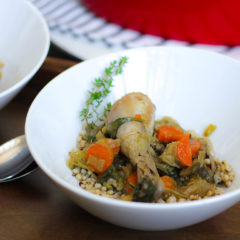 Recipe for Chicken in a Pot with Sorghum (or Barley)