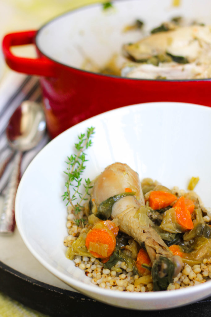 Recipe for Chicken in a Pot