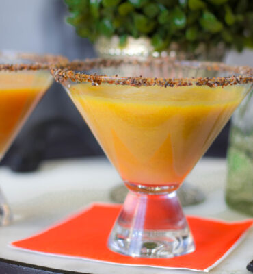 Clean Fall Cocktail: Pumpkin Margarita
