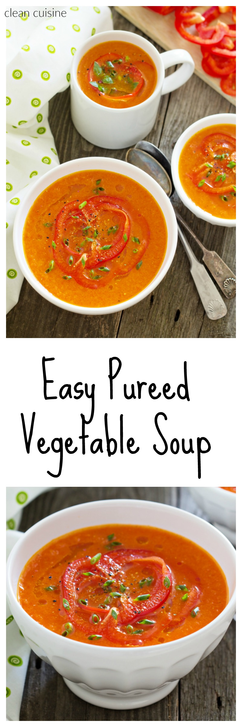 Pureed Vegetable Soup