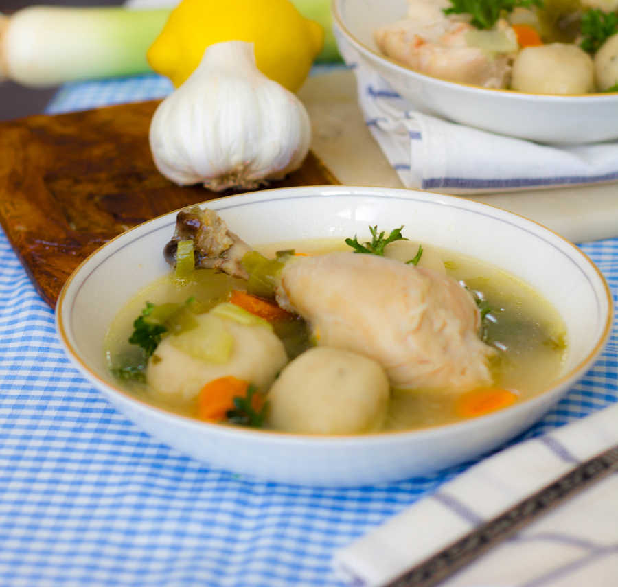 Gluten Free Chicken and Dumplings 2