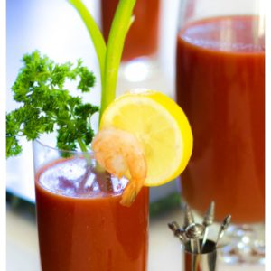 Clean Bloody Mary Mix Recipe and a Build Your Own Bloody Mary Bar