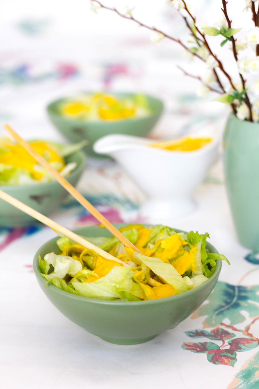 Orange Salad Dressing In Japanese Restaurants