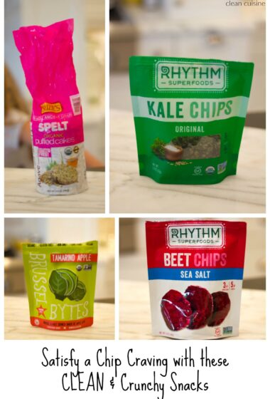 Clean and Healthy Chips to Eat (Mom Tested and Kid Approved!)