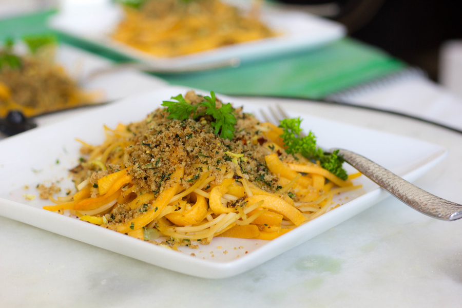 Spaghetti with Breadcrumbs recipe