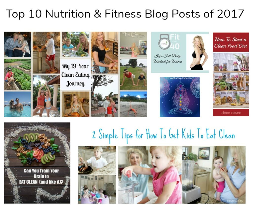 Top 10 Nutrition and Fitness Blog Posts of 2017