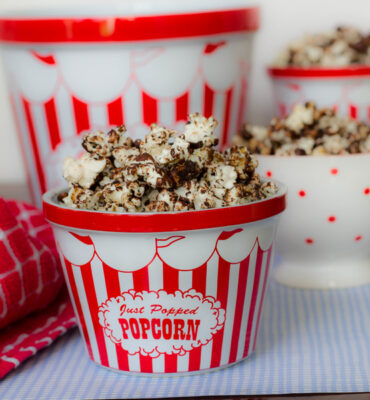 Clean Chocolate Popcorn Recipe (No Dairy / No Refined Sugar)