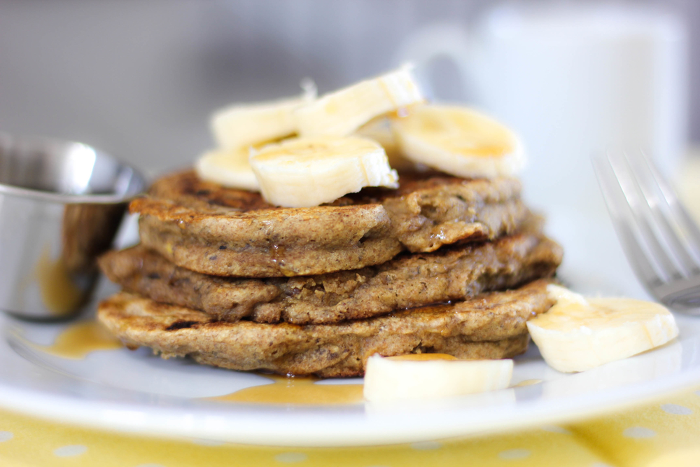 fluffy banana pancake recipe