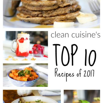 Top 10 Clean Recipe Blog Posts of 2017