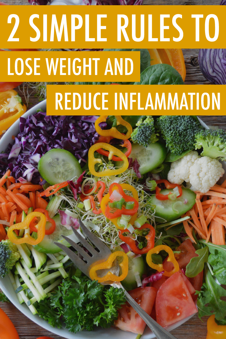 lose weight reduce inflammation