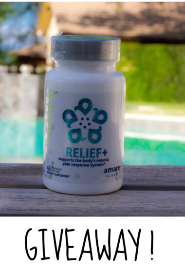 "6 Natural Pain Relievers (that Work!) Plus Amare ""Relief+"" GIVEAWAY"