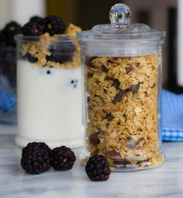 Lemony-Apricot Clean and Simple Granola Recipe