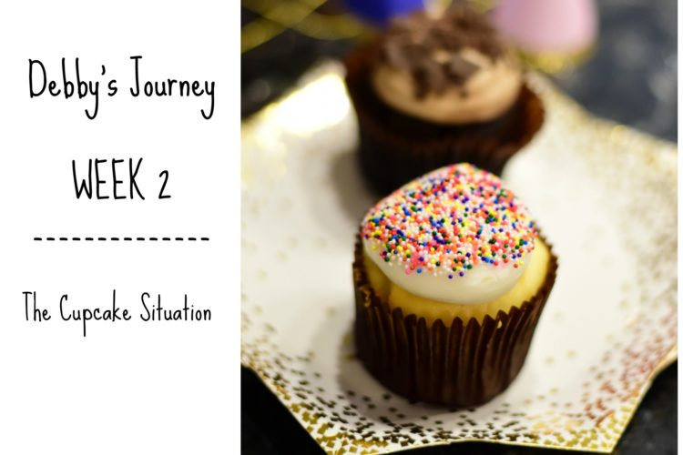 Debby's Clean Eating Journey Week 2: The Cupcake Situation